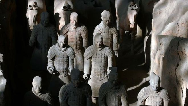 BBC: Greek artisans may have trained those who made the Terracotta Warriors
